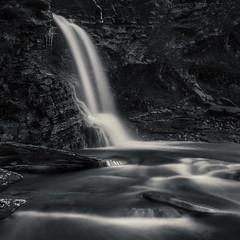 Off the Beaten Track (SkyeWeasel) Tags: scotland skye landscape waterfall river boreraig alltnapeigeinn ng622163 longexposure