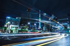 Tokyo Sky Tree #2 (aotaro) Tags: ilce7m3 night nightphotography fe1635mmf4zaoss tokyoskytreeintown tokyo lightstreams longexposure japan tokyoskytree