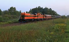South Sagola (GLC 392) Tags: sagola mi michigan weeks grass trees code line els escanaba lake superior railroad railway train customers special business passenger baldwin rs12 emd gp382 300 400