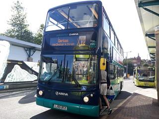 Arriva north east 7421 RARE on the X12