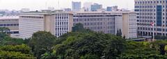 Gedung Kebon Sirih BI (Ya, saya inBaliTimur (leaving)) Tags: building gedung arsitektur architecture jakarta office kantor