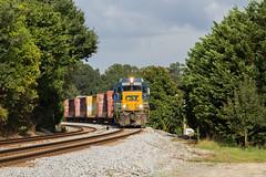 CSX Y220-17 at Acworth (travisnewman100) Tags: csx train railroad rr freight local yard job acworth atlanta division georgia wa subdivision slug set gp30 y220
