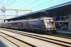 116-250 at Vienna hbf (Karel1999 Over Two Million views ,many thanks) Tags: vlak zug locomotives trains railway railroad station