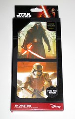 star wars the force awakens packaging 8 lenticular 3d coasters 2015 paladone uk misb a (tjparkside) Tags: star wars force awakens packaging 3d coasters 8 different lenticular designs feel kylo ren first order stormtrooper 1st fo 2015 paladone uk captain phasma chewbacca wookie c3po c 3po protocol droid r2d2 r2 d2 astromech droids rey jakku scavenger flametrooper flametroopers stormtroopers lightsaber bo staff blaster blasters bowcaster bb8 bb episode 7 seven vii misb