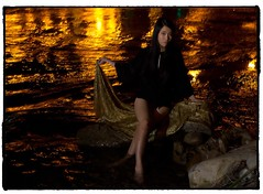 Tiffany by the Bow. #photooftheday #photography #photoadaychallenge #project365 #canon7d #canon2470 #portrait #river #night #yyc #calgary (PSKornak) Tags: photooftheday photography photoadaychallenge project365 canon7d canon2470 portrait river night yyc calgary bowriver longexposure glow tiffany alberta canada