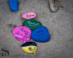be kind - Kindness Rocks-2 (Singing With Light) Tags: 2018 20th a7iii ct milford mirrorless shoes singingwithlight sonya7iii august cloudy morning photography singingwithlightphotography sony sunrise walnutbeach