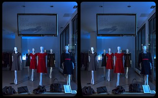 Display dummies 3-D / CrossView / Stereoscopy / HDRaw