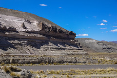 Rocky outcrops / Скалистые останцы (Vladimir Zhdanov) Tags: travel peru andes altiplano mountains sky cloud nature landscape grass road rock stone