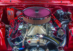 V8 Power (John Kocijanski) Tags: engine car vehicle automobile autumn chevy chevrolet red canon18135mmstmlens hss