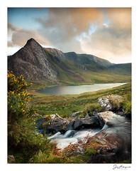 Afon Lloer (jholls84) Tags: tryfan ogwen valley llynogwen afonlloer gorse beck mountain sunset