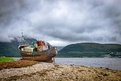 Abandoned ship..