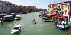 Grand Canal from Rialto to Ca'Foscari Venezia (Thomas +/-) Tags: grand canal venezia rialto
