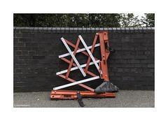Poplar Guard Art © (wpnewington) Tags: london art guard eastend red