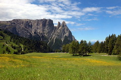 The Sciliar massif (annalisabianchetti) Tags: sciliar mountains montagne dolomites dolomiti paesaggio landscape travel trentinoaltoadige beautiful italy alps