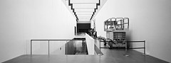 GOMA iii (@fotodudenz) Tags: hasselblad xpan film rangefinder 30mm ultra wide angle panorama panoramic 2018 35mm brisbane queensland australia gallery modern art goma qagoma south bank ilford xp2 super street photography ultrawideangle streetphotography ilfordxp2super
