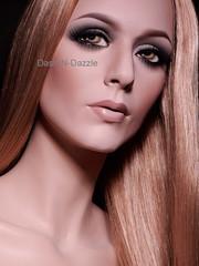 Kerrie (dashndazzle) Tags: dashndazzle mannequin makeup rootstein kerrie classy lady long legs