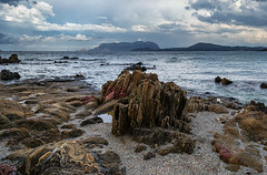 Pittulongu (Michael's shots) Tags: sea rocks italy sardinia nikond3100 seascape clouds