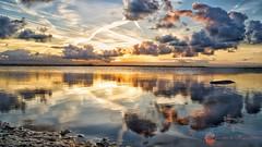 Zonnemaire Strand grevelingen (Omroep Zeeland) Tags: zonsopkomst grevelingen