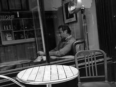 Is that Johnny Cash? (Bury Gardener) Tags: blackandwhite bw oldies old snaps 2018 people peoplewatching folks suffolk street streetcandids strangers candid candids burystedmunds england eastanglia uk britain abbeygatestreet