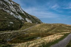 Different paths (James Waghorn) Tags: path summer beach nikon d7100 cliffs whitecliffs samphirehoe water tamron1024f3545diiivchld dover kent reflections clouds england