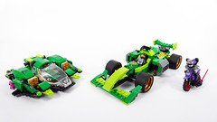 "Nya's Formula - LEGO Ninjago 70641 Alternate MOC (""grohl"") Tags: f1 formula racing race racer racecar fast action shooting flying flyer 70641 lego ninjago 2018 grohl666 grohld fun cool speed technic"