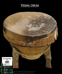 tribal-drum (afebin@ymail.com) Tags: antique tribal art collections