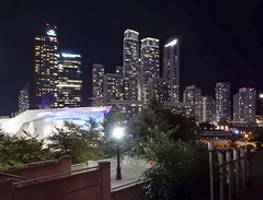 2018-09-04_21-47-52 City Lights (canavart) Tags: toronto downtown rogerscentre ripleysaquarium night lights condos towers