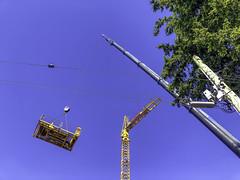 Where does this piece go (Tony Tomlin) Tags: whiterockbc britishcolumbia canada southsurrey cranes construction marcom