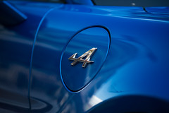 Alpine A110 (Brieuc.Baillot) Tags: 18 18t a110 rwd alpine bleue blue fr french propulsion renault turbo a alsace automotive detail nikon d600 nikond600 sigma sigma70200apodghsm 70200mm 70200 lightroom 2018 august 68 hautrhin france