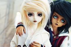 Solen & Cheyenne (Chantepierre) Tags: bjd balljointeddoll balljointed doll luts kid delf kdf bory boy tan tanskin fc fullcusto full custo custom chantepierre ladicius
