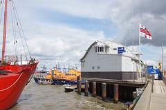 Harwich Lifeboat Station (Neil Pulling) Tags: harbour harwich havenports essex eastanglia uk england eastcoast sea northsea rnli