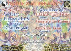 2000.03.25 Amplitudes Event And Yin Yang Records Presents Trance X-plorer Party (b) (Flyer Guru) Tags: