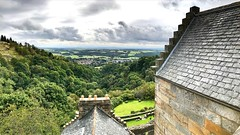 Castle Campbell View (captures.in.time) Tags: castle scotland wonderlust historicscotland visitscotland tourist travel cloud panorama photography woods stone