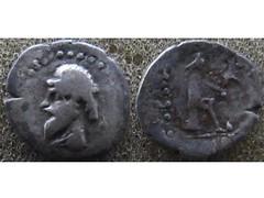 Mithradates I obol (Baltimore Bob) Tags: ancient money coin parthia parthian persia persian arsacid arsakid mithradates obol