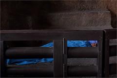 in a cardboard box, ajanta (nevil zaveri (thank U for 15M views:)) Tags: zaveri ajanta caves unesco world heritage maharashtra india photography photographer images photos blog stockimages photograph photographs rockcut basalt aetrip interior people caretaker nevil rocks nevilzaveri stock photo woman women conceptual