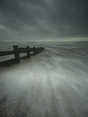Approach (www.peterhenryphotography.com) Tags: water sea beach tide waves shore coast sky clouds storm stormy
