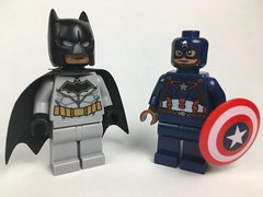 CROSSOVER: Batman and Captain America