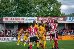 Altrincham FC vs Boston United - August 2018-133 (MichaelRipleyPhotography) Tags: altrincham altrinchamfc altrinchamfootballclub alty ball bostonunited community fans football footy goal header jdavidsonstadium kick mosslane nationalleaguenorth nonleague pass pitch preseason referee robins salfordcity save score semiprofessional shot soccer stadium supporters tackle team vanarama