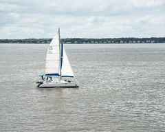 Sailboat_118387 (gpferd) Tags: bay boat clouds vehicle water annapolis maryland unitedstates us