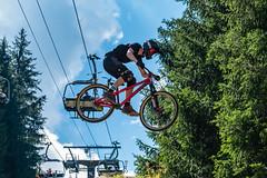 MTB-117 (Diving Pete) Tags: bicycle chatel france frenchalps intobeyondphotography location mtb mountainbike prelajoux rebouljamatchatelmtbbikepark shows