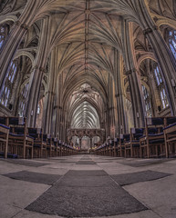 A place to wash worries away (Wizard CG) Tags: bristol cathedral hdr uk architecture gothic college green olympus epl7 ngc world trekker micro four thirds 43 m43 mzuiko digital ed tourist attraction light windows church building indoor fisheye ceiling room people symmetry vault window arch aisle