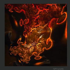 Amber fossils (horstdoehler) Tags: artwork abstract surreal amber fossils