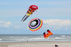 Three objects over the beach (ruthehrhardt) Tags: dragon beach summer nikond5300 colors