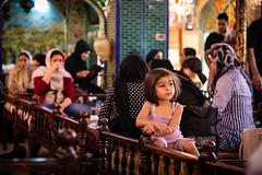 . (The eclectic Oneironaut) Tags: 2018 6d canon eos iran isfahan selected travel viajes isfahanprovince irán ir restaurant women children girls