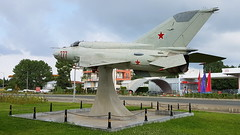 Mikoyan-Gurevich Mig.21bis c/n 75094277 Bulgaria Air Force serial 277 (Erwin's photo's) Tags: mig21 mig 21 mikoyangurevich mig21bis cn 75094277 bulgaria air force serial 277 nessebar nessebur nesebar nesebur bulgarian monument aircraft sunny beach
