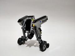 Lego moc - Speeder mecha (c_s417) Tags: lego bricks speeder bike mech mecha moc robot suit mobile army mini figures minifigures toys cars