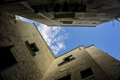 P 01 (Ga.Ros) Tags: wide sky clouds polignano sony alpha trip travel town architecture italy city