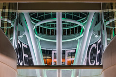 free speech (pbo31) Tags: sanfrancisco california night dark color nikon d810 august summer 2018 boury pbo31 financialdistrictsouth city urban transit center salesforce over contemporary architecture green art