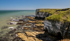 2018-06-30 Flambro-1440567.jpg (Hands in Focus) Tags: flamboroughcliffs lumixfz1000 ocean cliffs eastridingofyorkshire sea