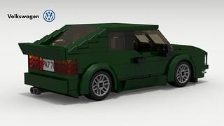 VW Corrado (rear view)
